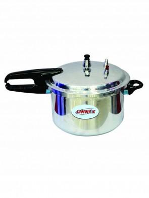 Linnex Gas Stove Pressure Cooker 6L - Silver 0014