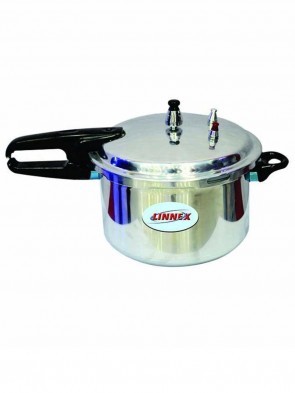 Linnex Gas Stove Pressure Cooker 7L - Silver 0011