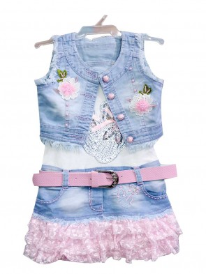 Original Indian Girls Dress Zany 054